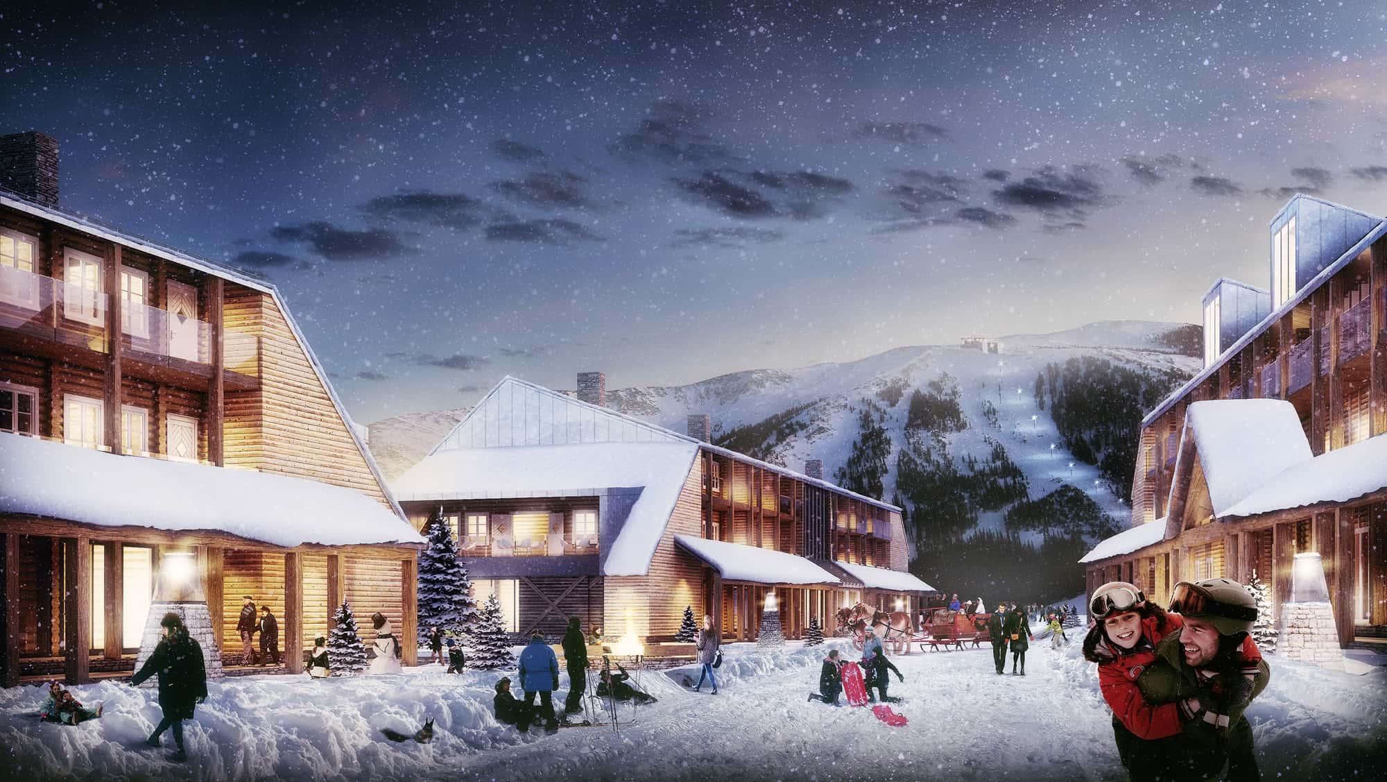 Eidfjord Resort – et høyfjellseldorado for turister på vintercruise