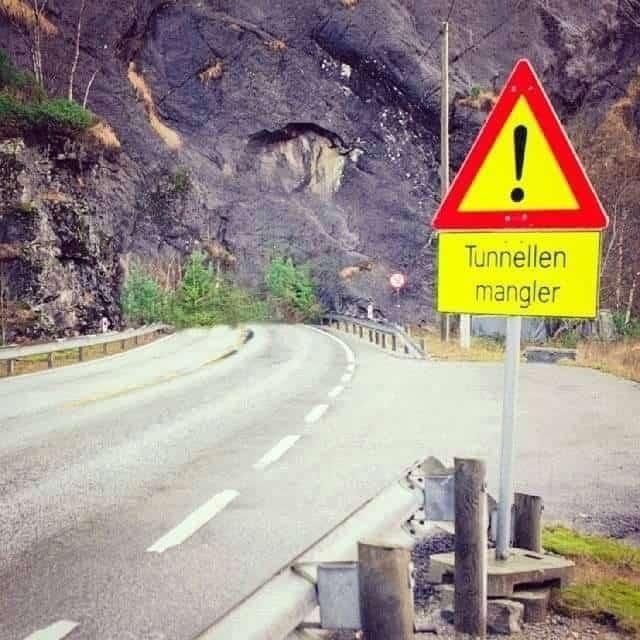 Lågehætunellen på Hardangervidda mellom Halne og Skulevika innan rekkevidde?