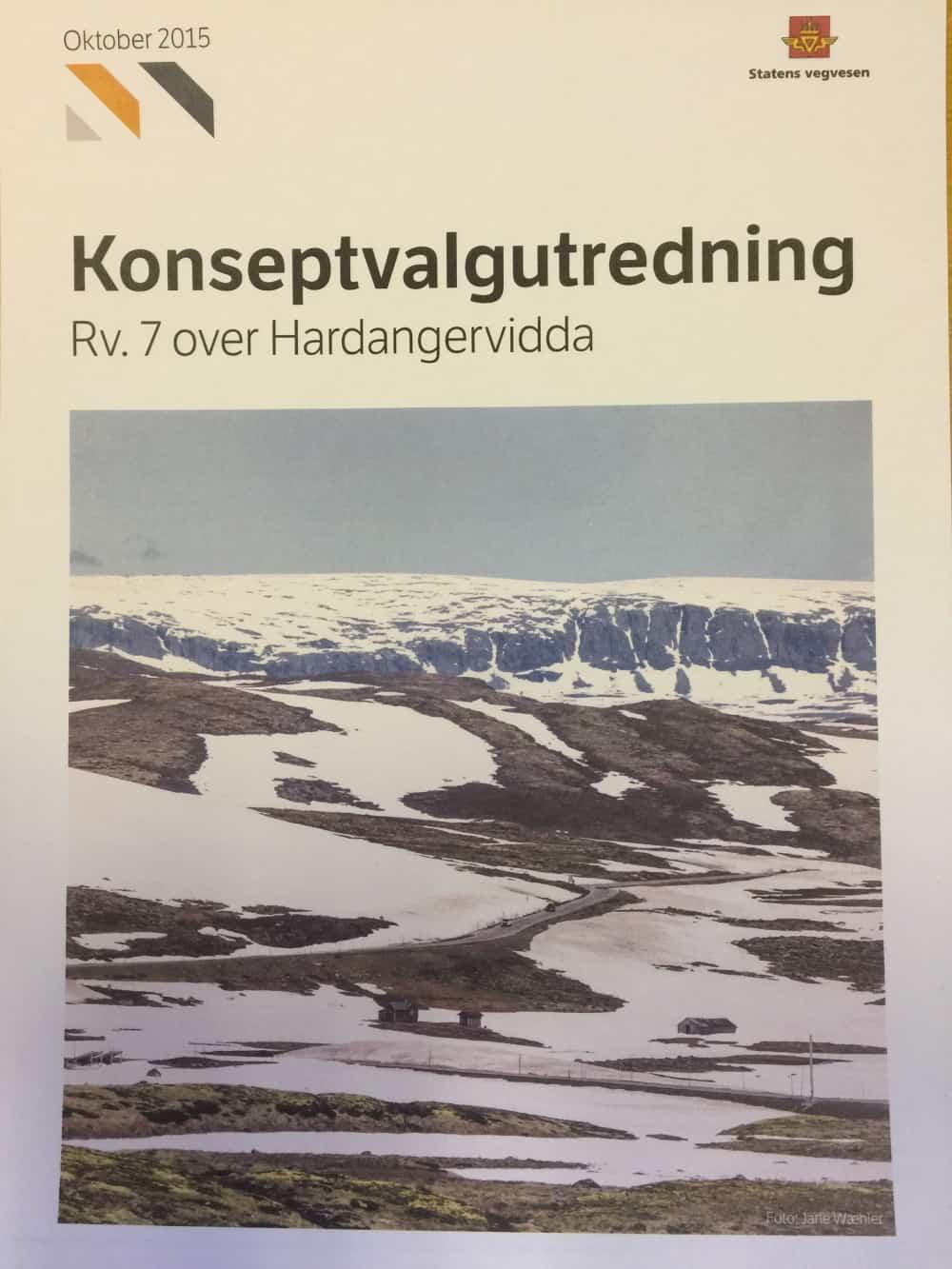 KVU rv. 7 Hardangervidda – Ny Høyring – Informasjonsmøte