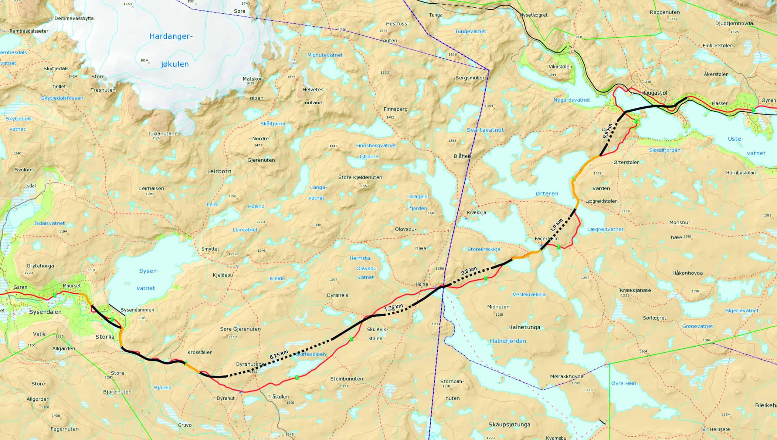 Uttale til «15/225843- KVU Rv 7 Hardangervidda -Ny høring»