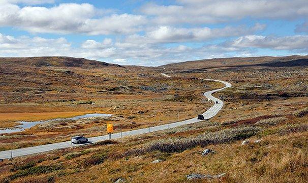 Fjellovergangen Rv 7 Hardangervidda befestar stillinga si.