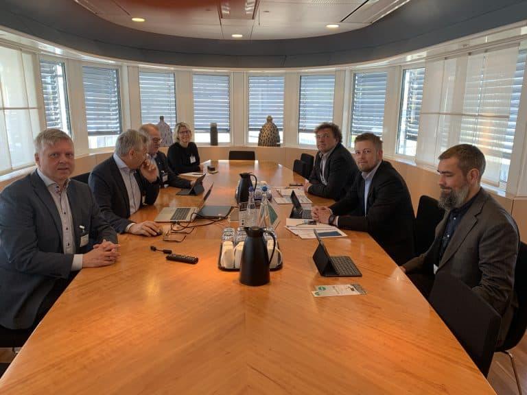 Møte i Samferdselsdepartementet 14. mai 2019