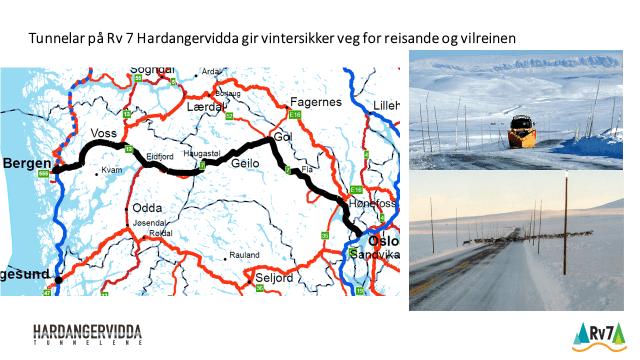 Hardangerviddatunnelar i  Nasjonal Transportplan?